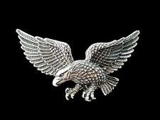 EAGLE AMERICA AMERICAN BIKER USA ANIMAL BIRD BELT BUCKLE BOUCLE DE CEINTURE