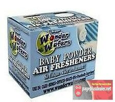 16- Wonder Wafers Baby Powder Scent~Amazingly Fresh~ Air Freshener
