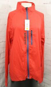 Dakine Breaker Jacket / Packable Windbreaker, Men's Large, Octane Red New