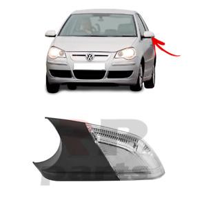 Per VW Polo (9N) 2005 - 2009 Nuovo Specchietto Laterale Lato Freccia LED