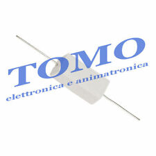 Resistenze 5W 100R 100ohm 5 watt a filo in cemento lotto 5 pezzi