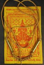 TAKRUT NECKLACE BRACELET Temple Guardian TAW WAES SUWAN  PHA YANT TEMPLE CLOTH