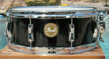 Pearl Vision Series Jet Black Wrap 14� x 5-1/2� Deep Snare Drum