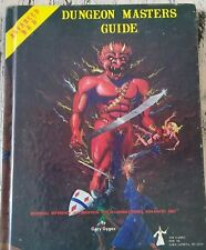 Dungeons And Dragons -Advanced Dungeon Masters Guide 1979 TSR Games