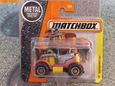 MATCHBOX 2016 #036/125 dirtstroyer BRONZE / jaune MBX CONSTRUCTION étui E