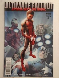 Marvel ULTIMATE FALLOUT #4 (2011) 2nd Print, 1st Miles Morales Appearance NICE!