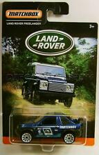 LAND ROVER FREELANDER BLUE LAND ROVER SERIES MATCHBOX DIECAST 2016 LQQK