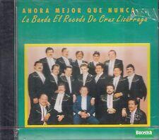 La Banda El Recodo de Cruz Lizarraga Ahora Mejor Que Nunca CD New Nuevo sealed