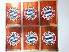 TOPPS - Match Attax 2008/2019 08/09 - Fußball - 6x Bayern München Wappen - Logo