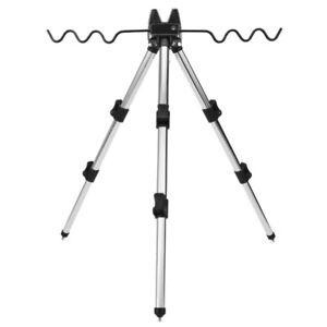 Fishing Rod Tripod Stand Telescopic Aluminum Alloy Holder