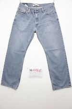 levi's 505(Cod. H1151) Tg48 W34 L29  jeans usato straight fit