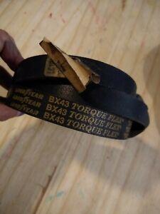 Goodyear BX43 Torque Flex Team Double V Belt