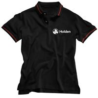 NEW 2018 Holden Embroidered Men's Polo Tee T-Shirt Fathers Day Christmas Gift