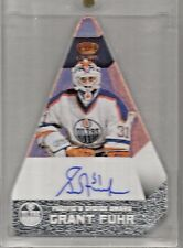 2013-14 Crown Royale Hockey Grant Fuhr Pacific's Choice Award Auto Card # PC-GF