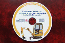 KOMATSU PC15R-8, PC15-8 HS HYDRAULIC EXCAVATOR SERVICE MAINTENANCE MANUAL