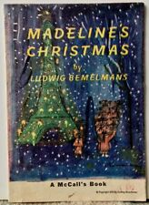 """Madeline's Christmas"" 1956 FIRST EDITION By Ludwig Bemelmans (A McCall's Book)"