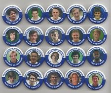 TOTTENHAM HOTSPUR FC LEGENDS BADGES ANY 10 PLAYERS FROM THE PIC OF 20