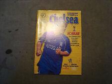 Chelsea V ca MILANO SEP 1999 CHAMPIONS LEAGUE