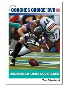 Football Coaching DVD - Underneath Zone Coverages - Tom Olivadotti