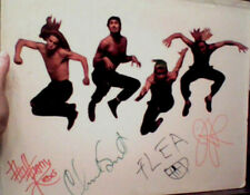 Red Hot Chili Peppers HUGE signed display x4 IN PERSON Photo Proof vintage REAL
