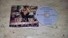 Madonna Turn Up the Radio CD Single CD Free Shipping