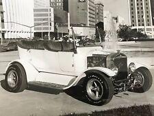 Vintage Photograph Hot Rod Ford Car California Custom