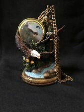 Pocket Watch With Display Stand-Eagle