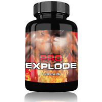 Pro Explode Pre Workout Booster Muskelaufbau Fettverbrennung extrem Pump Booster