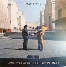 PINK FLOYD - WISH YOU WERE HERE Live in Paris LP white vinyl