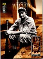 HONUS WAGNER 1996 Collector's Choice #504 ($0.75 MAX SHIPPING)