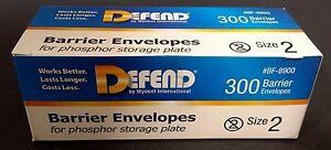 Defend Barrier Envelope for Phosphor Storage Plate 300pk (Size #2)  #BF-8900