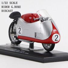 PROTAR 1/22 GILERA 4Cil.500cc.World Champion 1955 rider G.Duke Moto Alloy Model