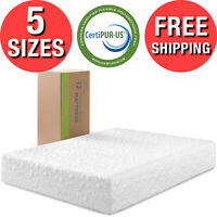 Theratouch Memory Foam Mattress 12 in Spa Sensations By Zinus Multiple Sizes New