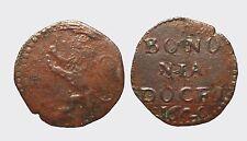 BOLOGNA - PAOLO V 1605-1621 -AE/ QUATTRINO 1620