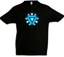 ARC REACTOR III Kids Boys T-Shirt Iron Avengers Tony Stark Man Mark Industries