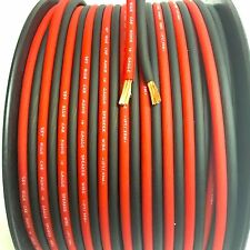 200 ft 10 Gauge RED/BLACK AWG w/ Roll Sky High Car Audio Speaker Wire Home