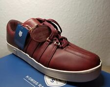 K. Swiss Classic 88 Horween Blood Red Mens Trainers - 46