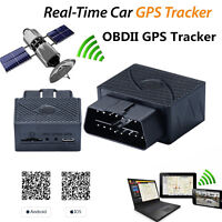Anti-Diebstahl-16-pin Auto OBDⅡ OBD2 Echtzeit-GPS-Tracker GSM GPRS keine Zeilen