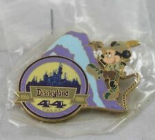 Disney Pin Mickey 'Conquering the Mountains' AP Excl. Event Disneyland 44 Years