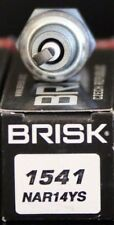 1X Brisk NAR14YS Spark Plug Beeline Veloce GT 50 Racing Benelli 250 Benzhou NEW