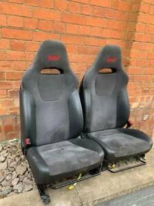 Subaru Impreza hatchback STi front seats 2008 fits every impreza 1993 onwards