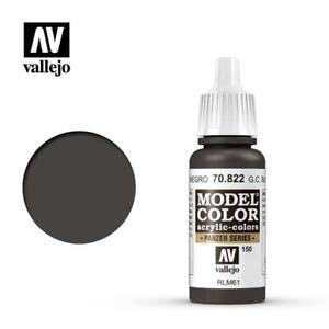 Vallejo Model Color 822 - German Cam Black Brown (70.822) 17ml