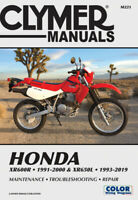 Honda XR600R-XR650L (1993-2019) Service and Repair Manual Clymer Repair Manual