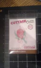 Cottage Cutz petites boutonniere metal cutting die - Scrapping cottage