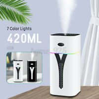 420ml Air Aroma Diffuser Humidifier LED Night Light DC Silent Humidification