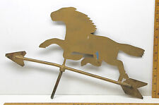 Early American Pony Horse Stallion Wind Mill Weather Vane Top Copper + Steel