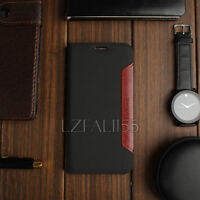 Genuine Real Luxury Magnetic PU Leather Case Flip Wallet Cover For Apple iPhone