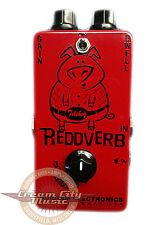 Brand New Durham Electronics Reddverb Reverb Preamp Guitar Effect Pedal