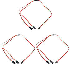 "Apex RC Products JR Style 24"" / 600mm Servo Y Harness - 3 Pack #1035"