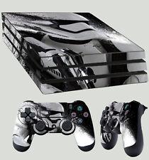 PS4 Pro Skin encre Splash Stromtrooper FRONT AUTOCOLLANT + 2 x Pad décalques